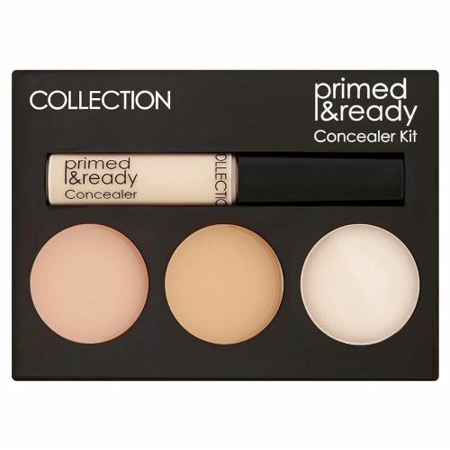 12 x COLLECTION Primed & Ready |  Concealer Kit Palette | Ultimate Coverage |